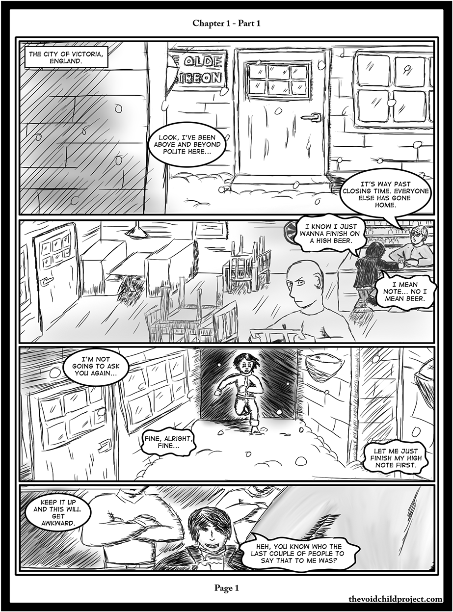 Chapter 1 - Part 1, Page 1