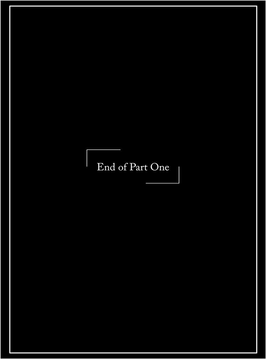 Chapter 1 - Part 1, End